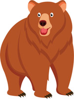 Bear clipart. Free clip art pictures
