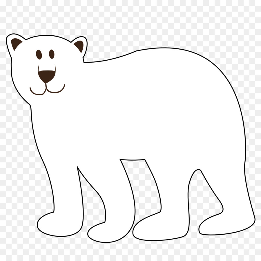 Polar brown giant panda. Bear clipart american black bear