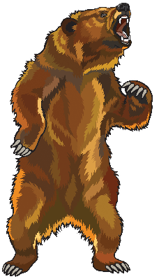 Bear clipart angry. Grizzly pbs learningmedia