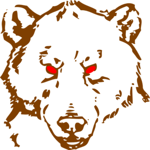 Clip art at clker. Bear clipart angry