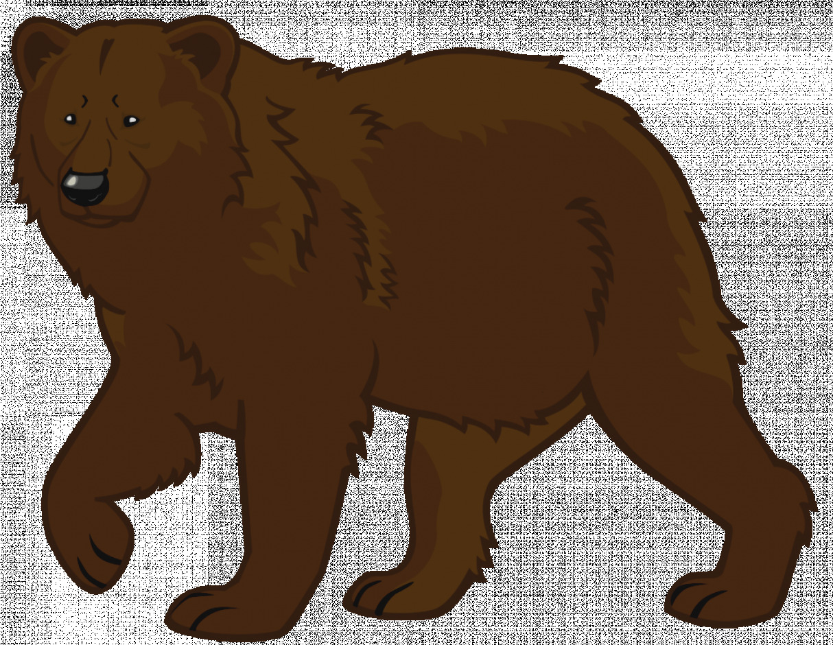 Bear clipart angry. Unique of grizzly clip