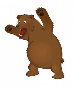 Bear clipart angry. Cartoon free download best