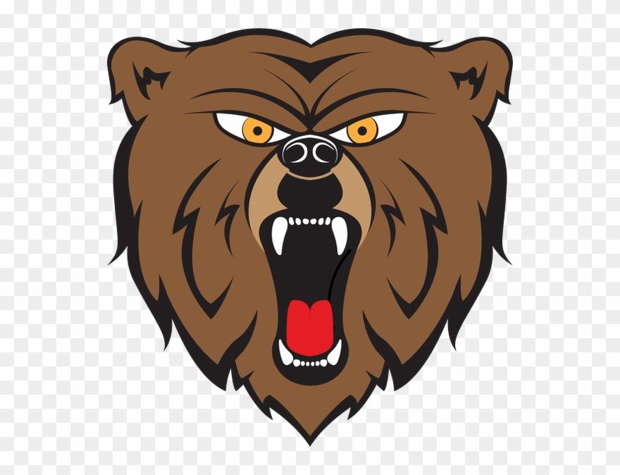 Cartoon pinclipart . Bear clipart angry