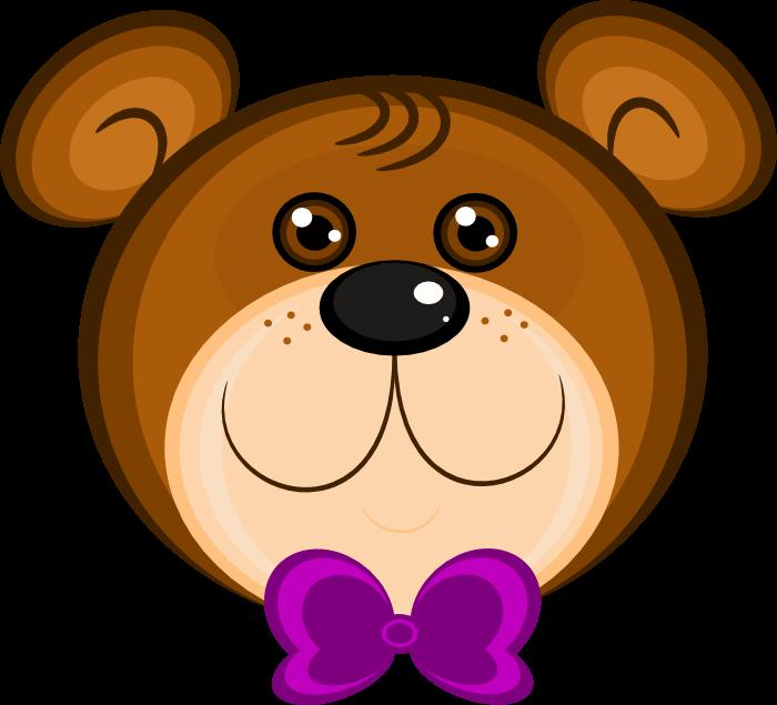 Teddy animations wearing bowtie. Clipart free bear