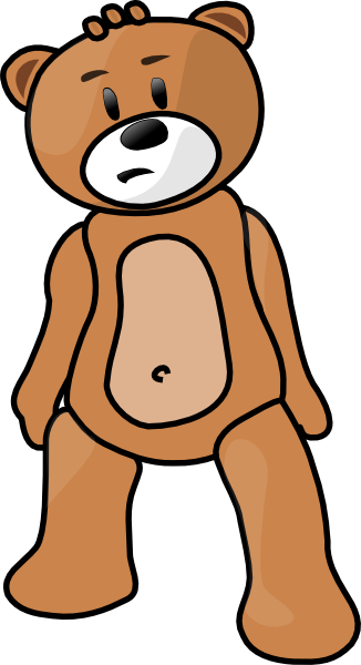 Free teddy animations brown. Bear clipart animated