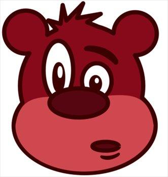 Bear clipart animated. Free cartoon cub download