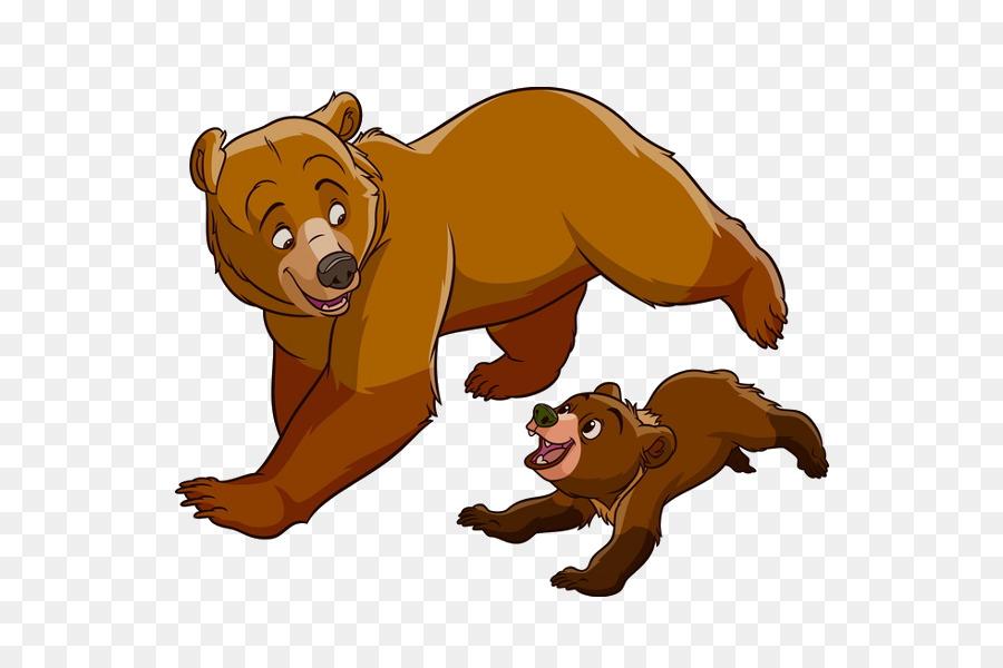 Brother bear koda animation. Brothers clipart transparent