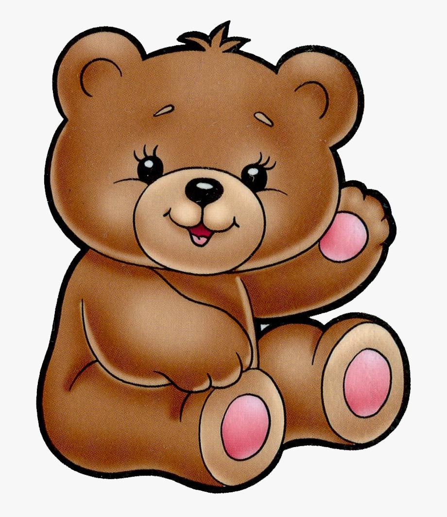 Teddy cute cartoon free. Bear clipart animated