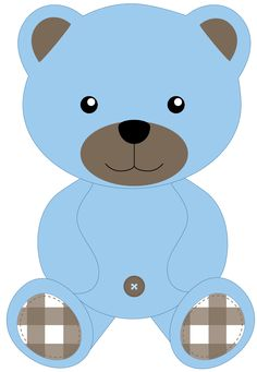 Teddy bear school plush. Bears clipart printable