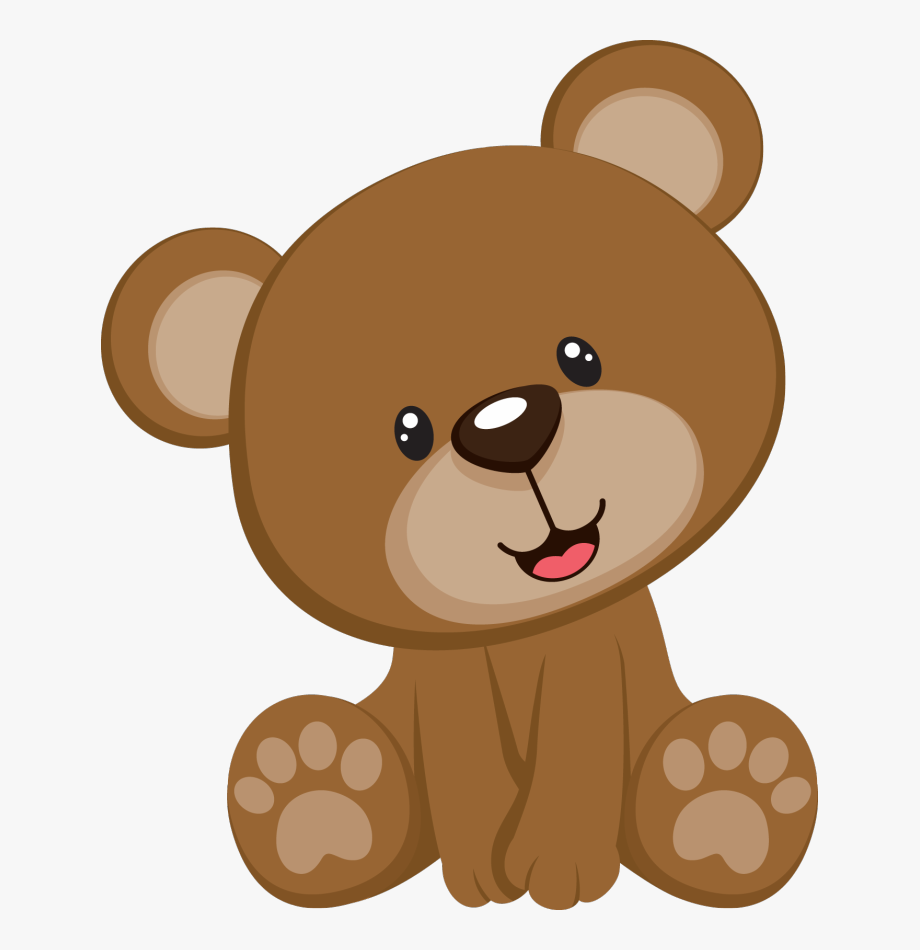 Teddy free . Bear clipart baby bear