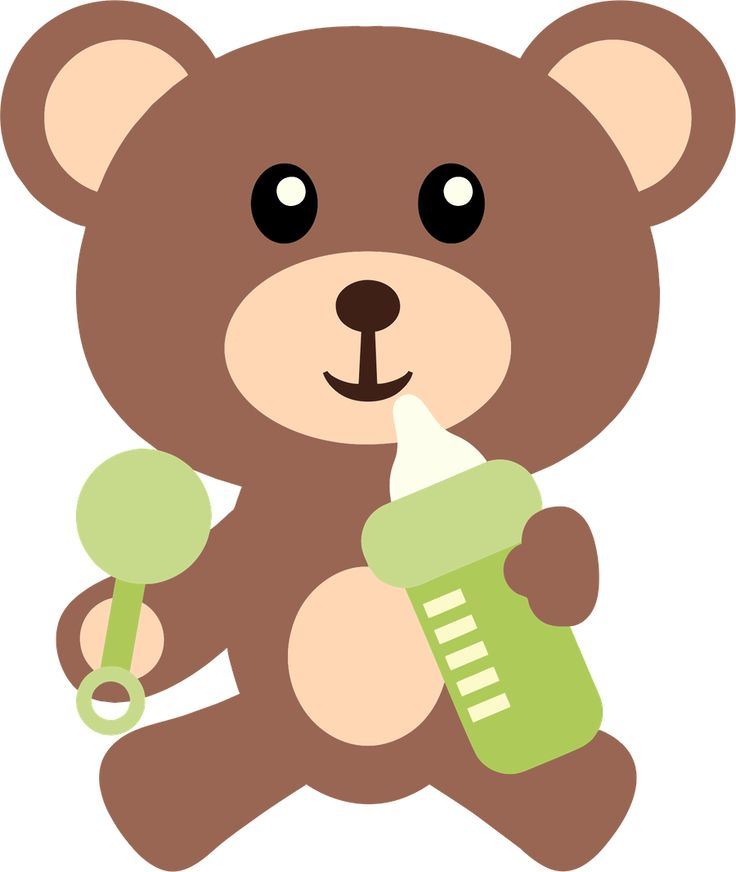 Bear clipart baby shower.  best images on