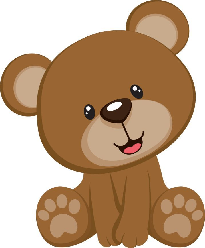 Image result for teddy. Bear clipart baby shower