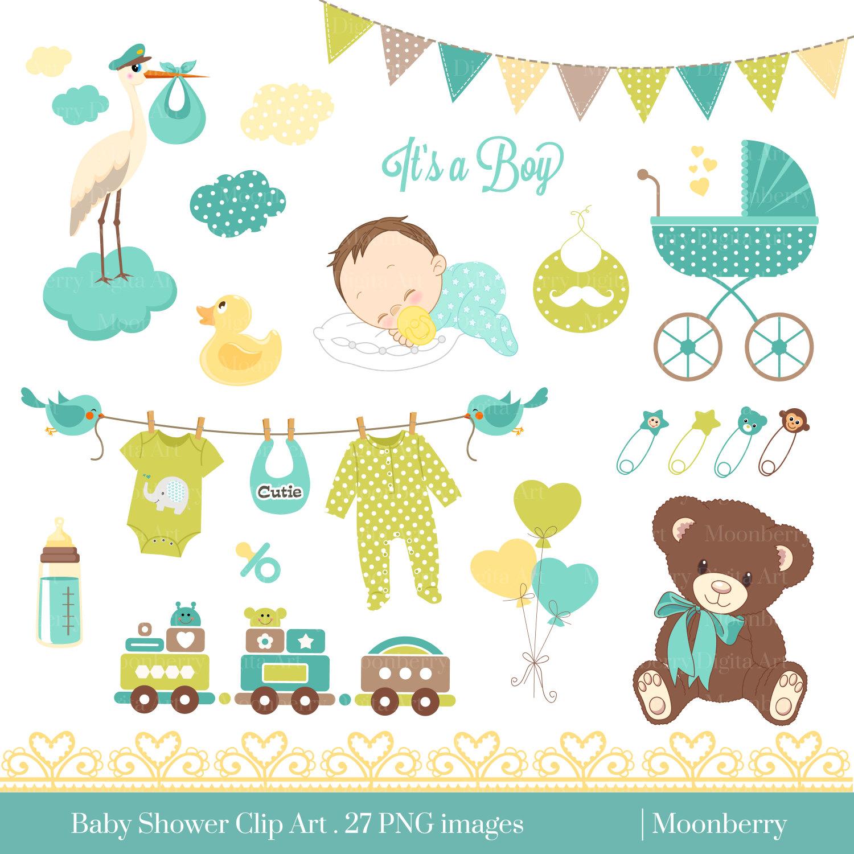 Bear clipart baby shower. Clip art