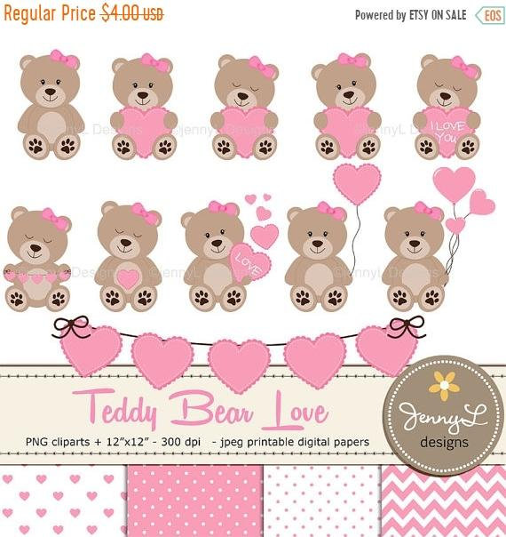 off teddy papers. Bear clipart baby shower