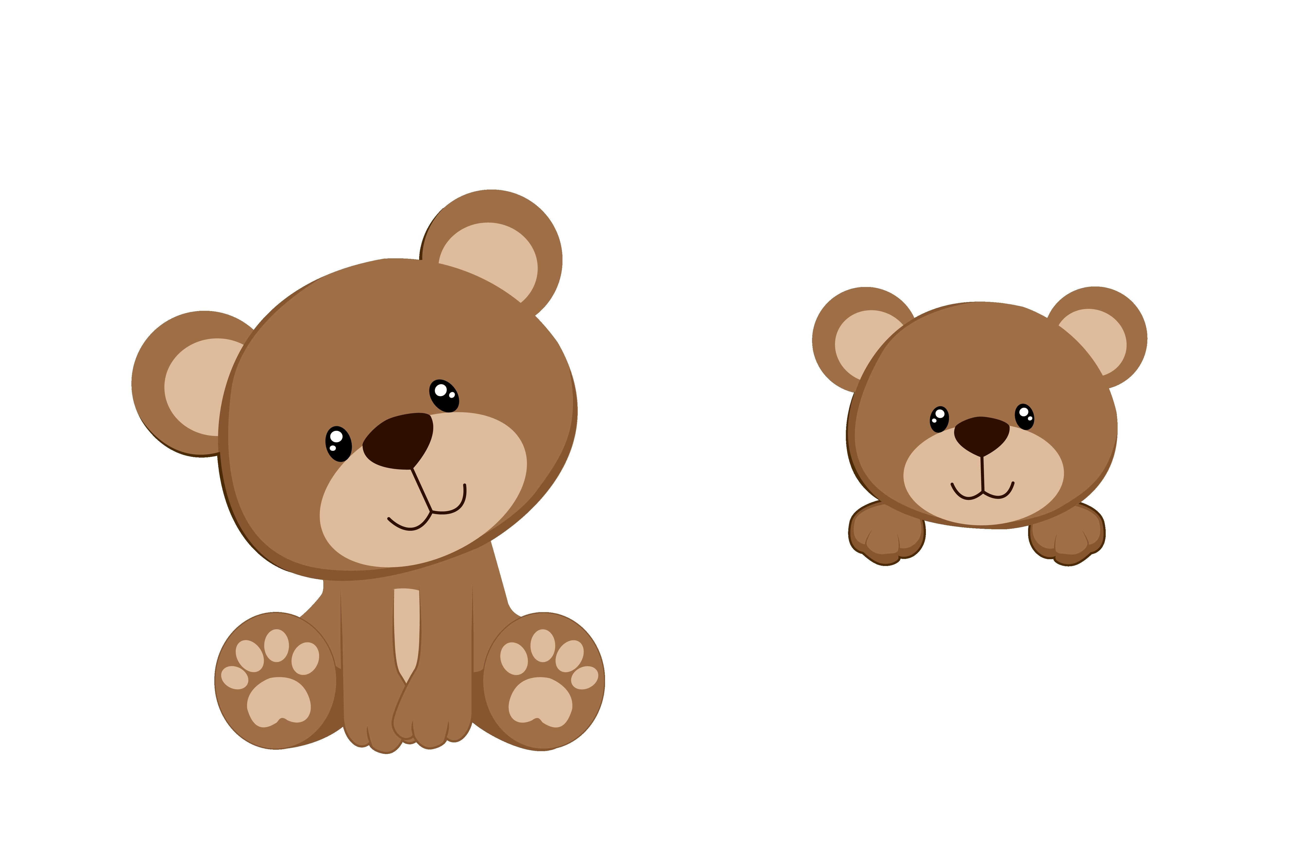 Bear clipart baby shower. Teddy decorations unique