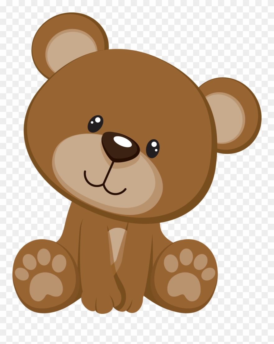 Cards babyshower oso png. Bear clipart baby shower