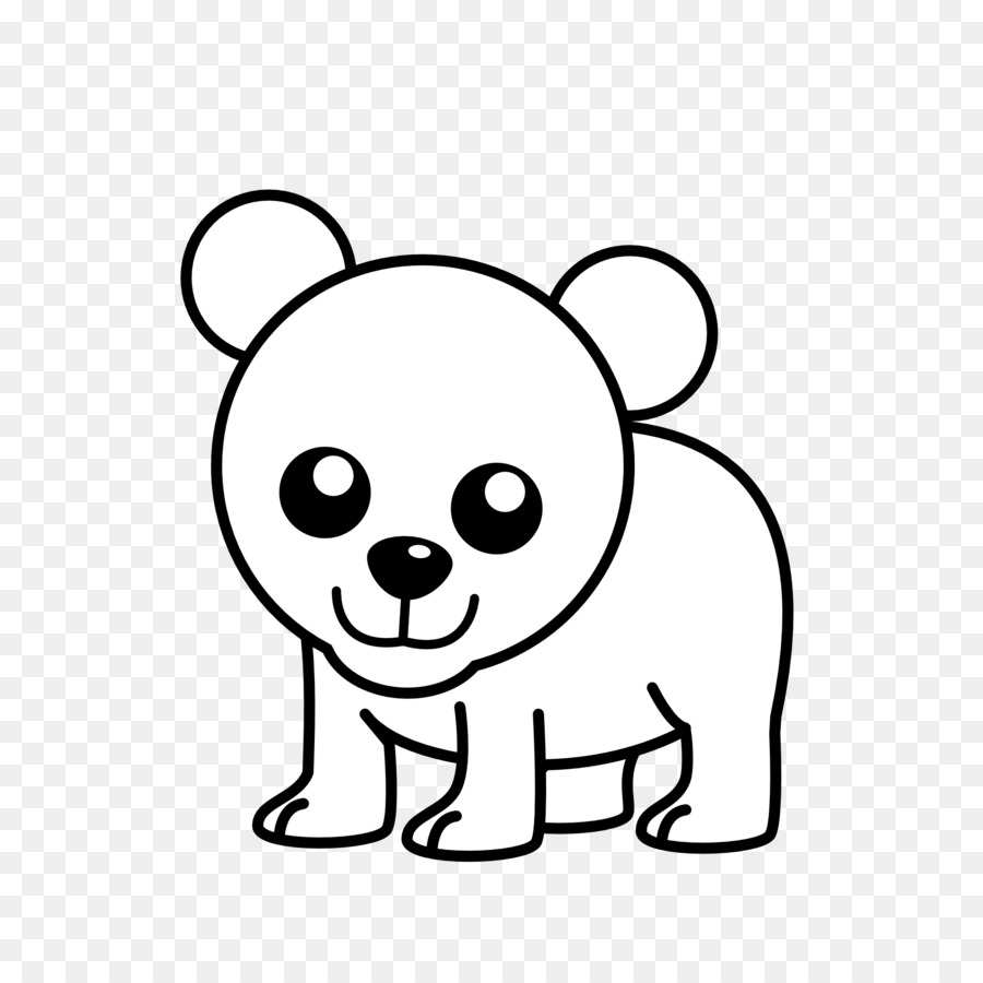 Bear clipart bear cub. Polar american black koala