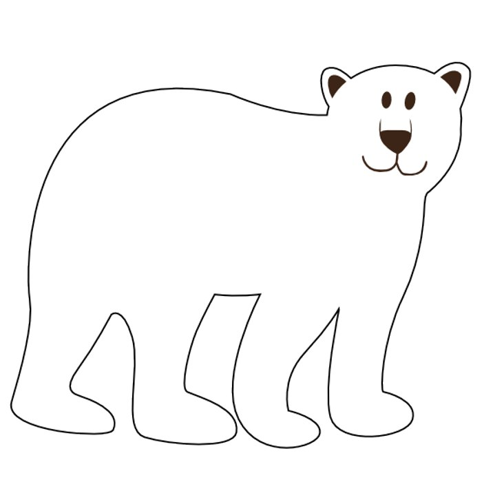 Bears clipart black and white. Bear panda free images