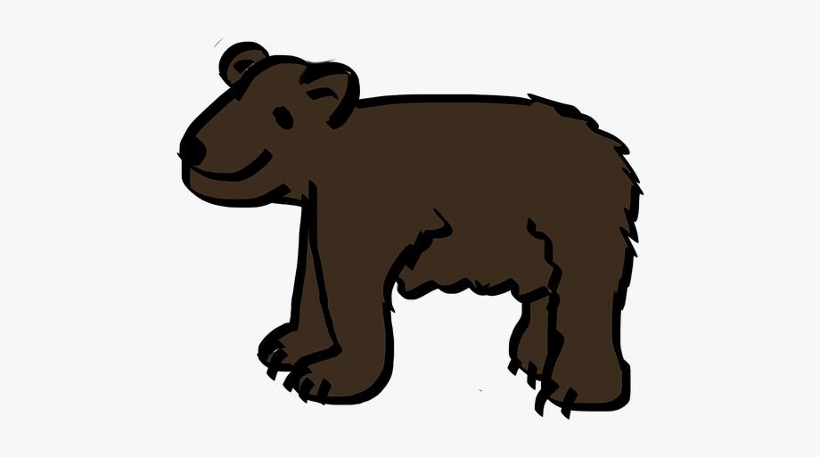 Brown cliparts cartoons . Bear clipart beruang