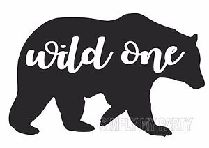 Iron on transfer sticker. Boho clipart wild one