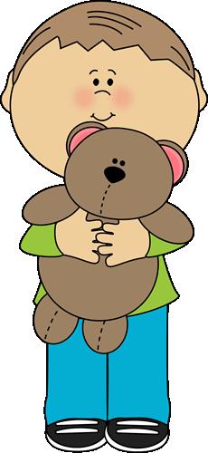 Bear clipart boy. With a teddy clip