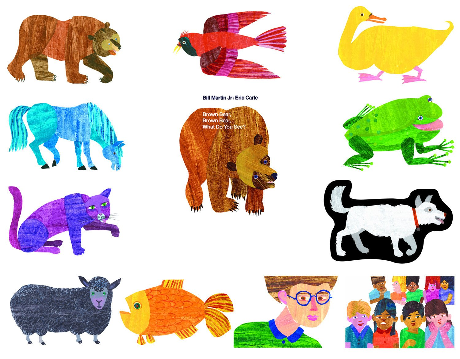 Bear clipart brown bear. What do you see