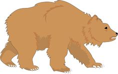 Free grizzly doodles pinterest. Bear clipart brown bear