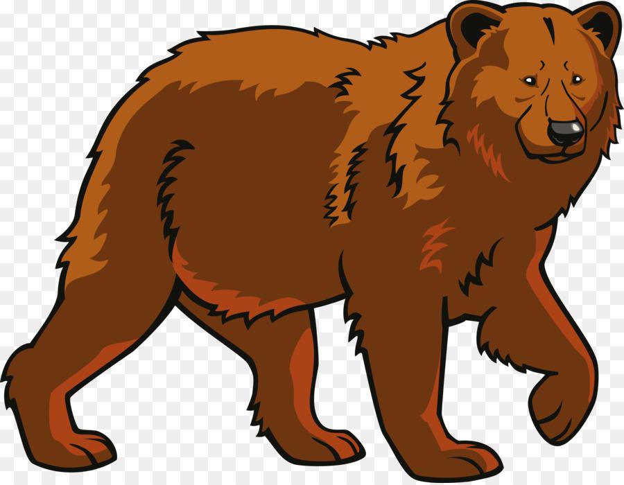 Polar eurasian clip art. Bear clipart brown bear