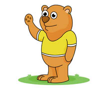 Bears clipart cartoon. Free bear clip art