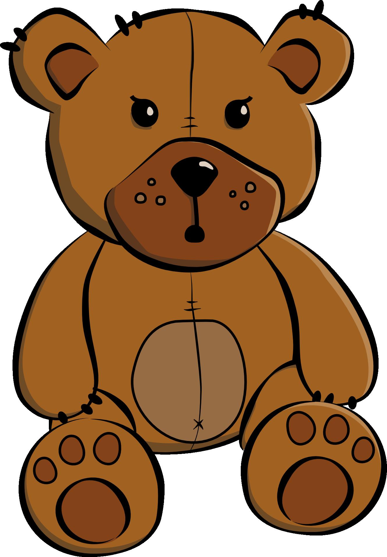 Free teddy bear clip. Wrestlers clipart bmp