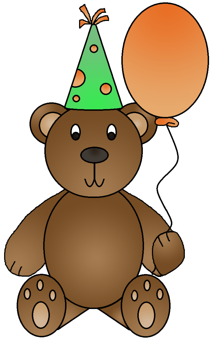 Graphics by ruth birthday. Bear clipart character
