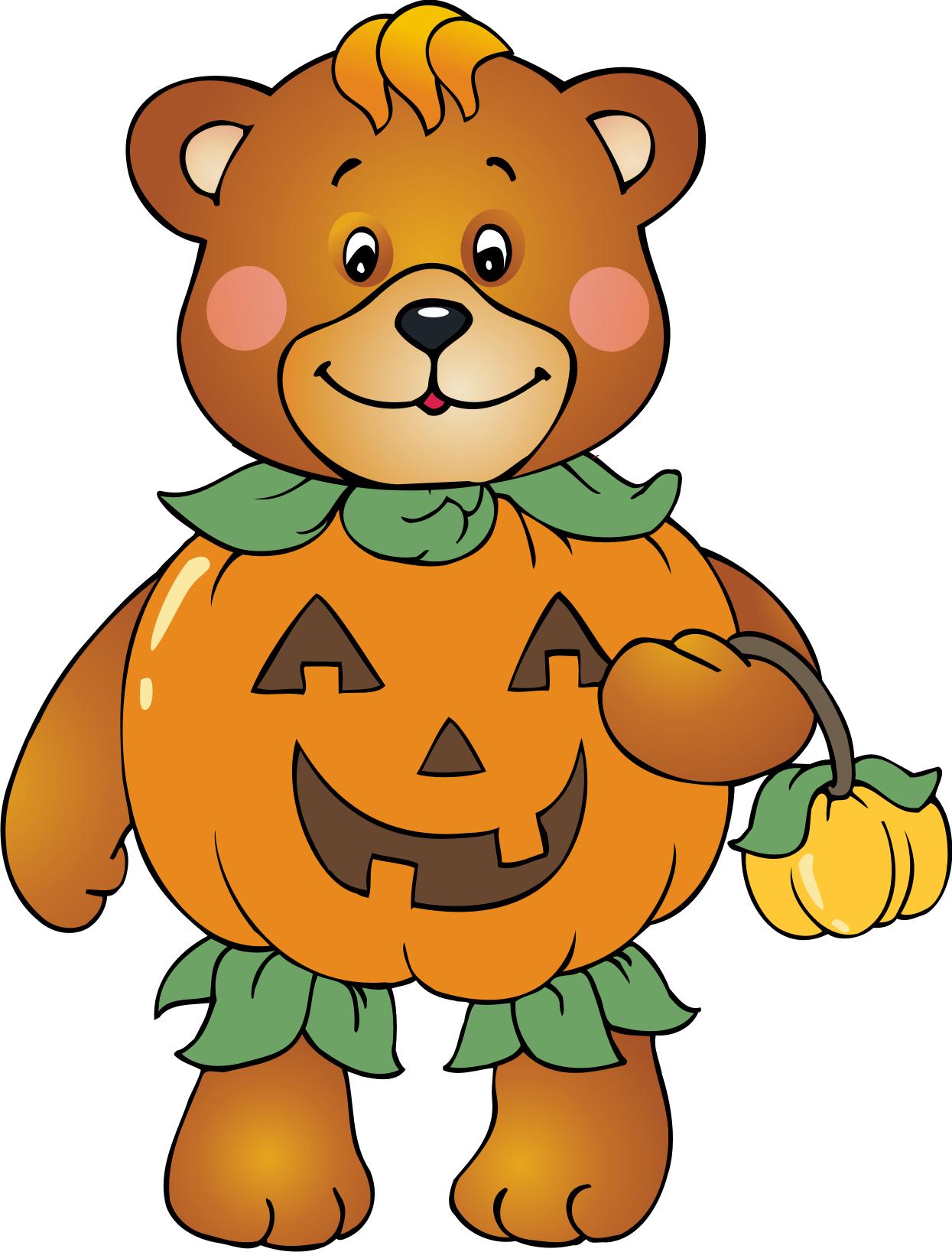 Bear . Cool clipart halloween