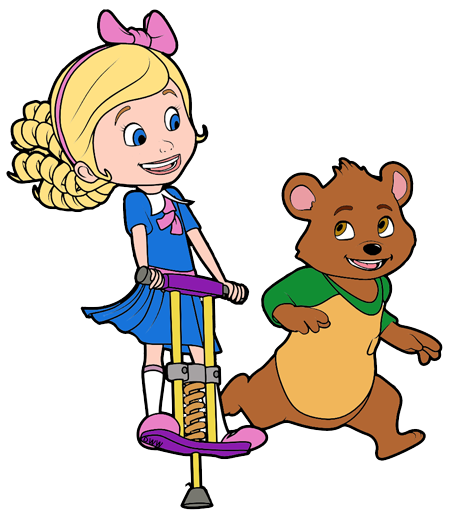 Goldie and clip art. Bear clipart character
