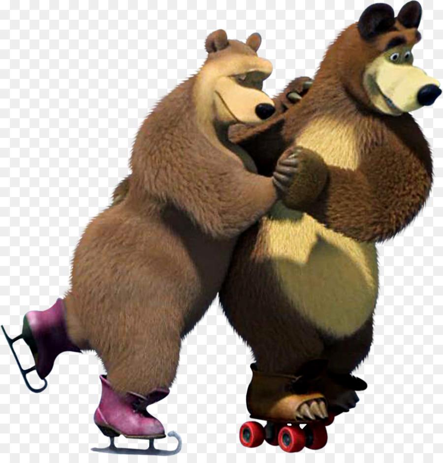 Bear clipart character. Masha clip art png