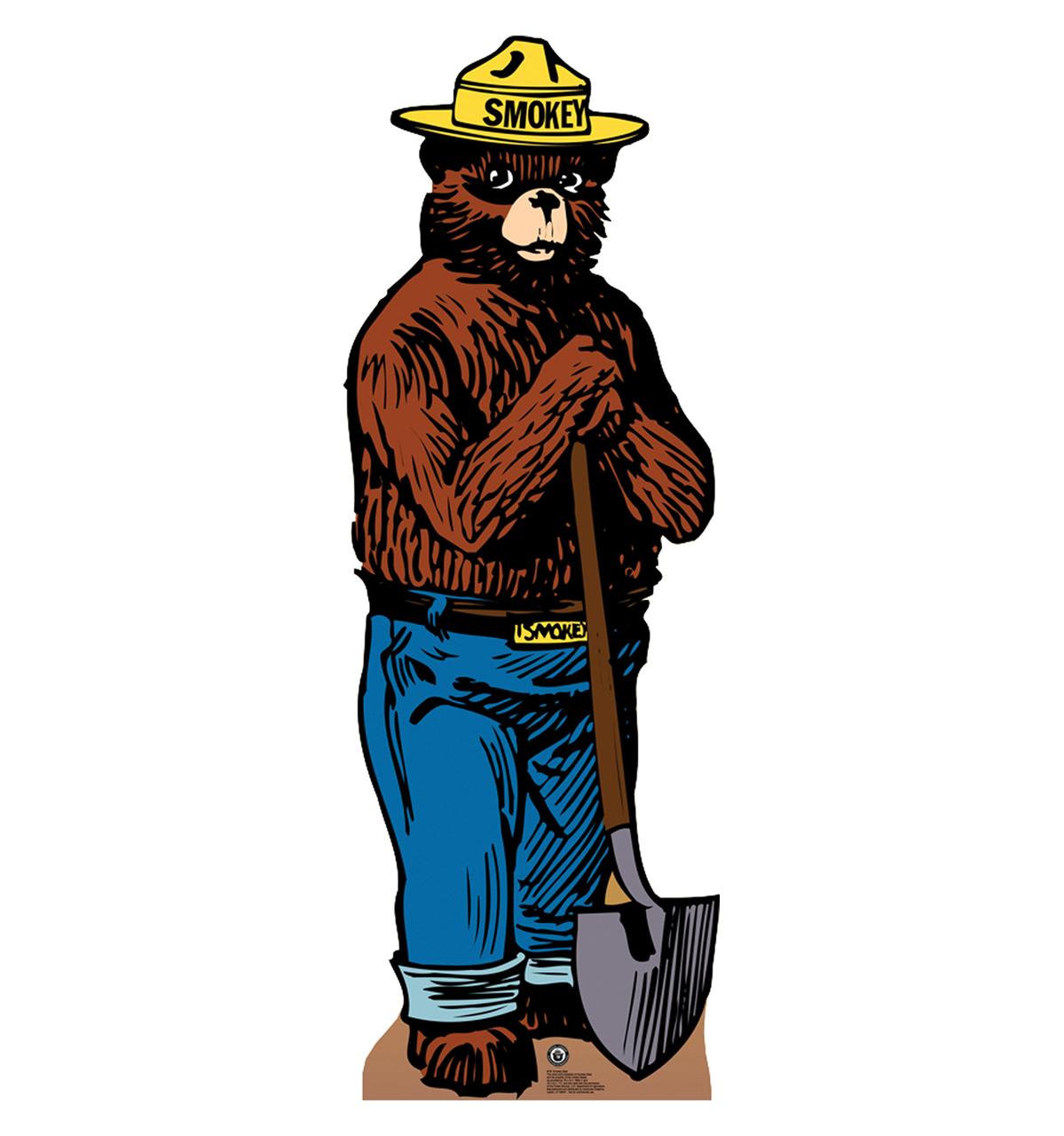 Smokey the death battle. Bear clipart character