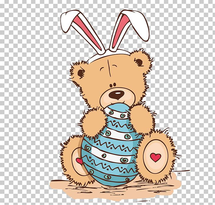 Easter clipart bear. Bunny teddy png animal