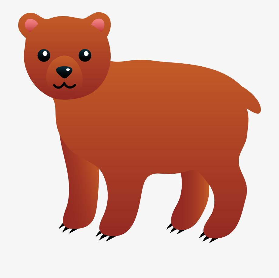Polar clip art dog. Bear clipart easy