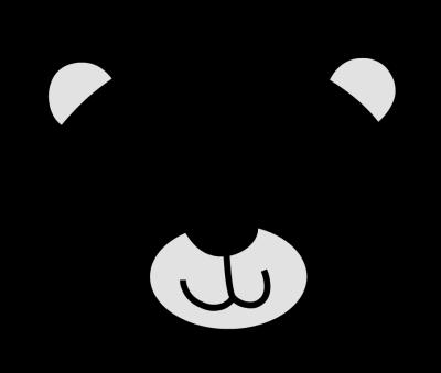 Bear clipart face. Best photos of polar
