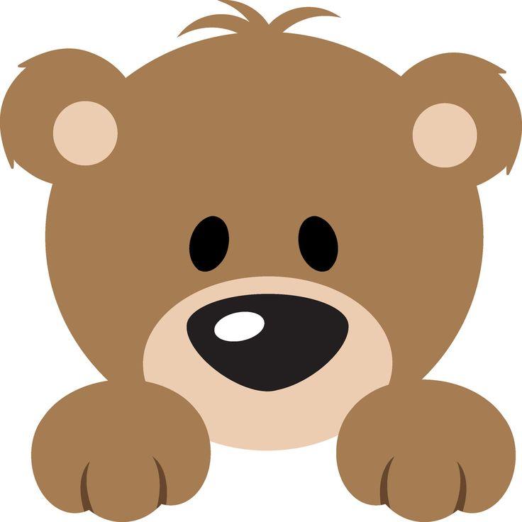 Bear clipart face.  clip art clipartlook