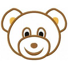 Bear clipart face. Teddy clip art t