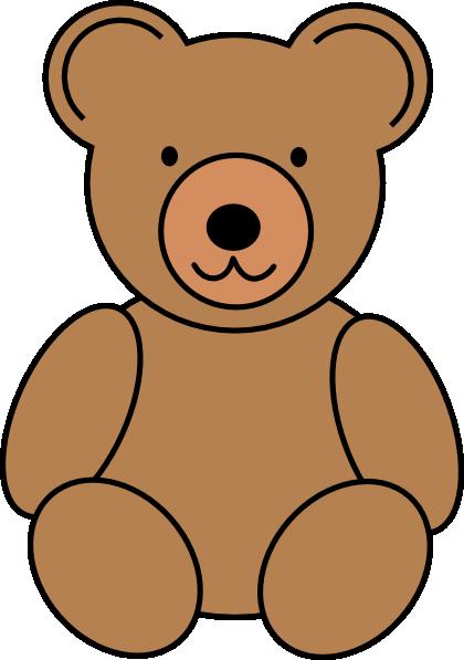 Bear clipart file. Cute