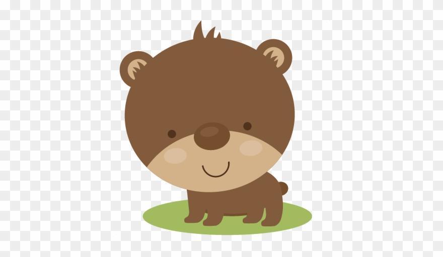 Cute svg scrapbook baby. Bear clipart file