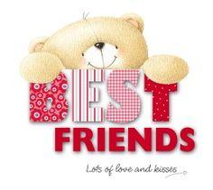 Bear clipart friend.  i love you