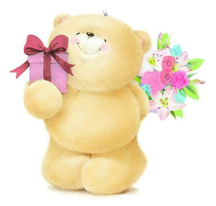 Bear clipart friend.  best for ever