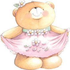 Bear clipart friend. Forever friends collection pinterest