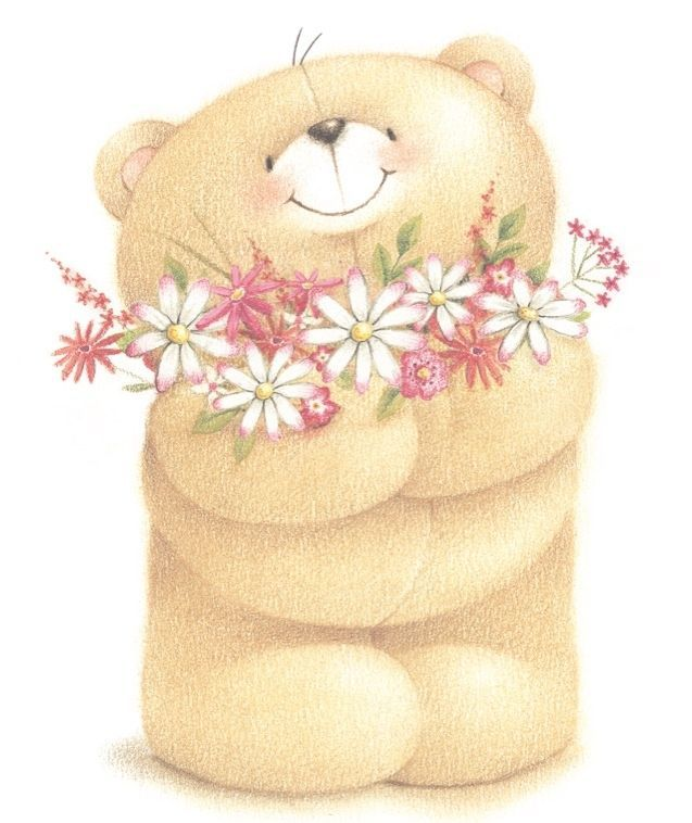 Pin by isabelle c. Bear clipart friend