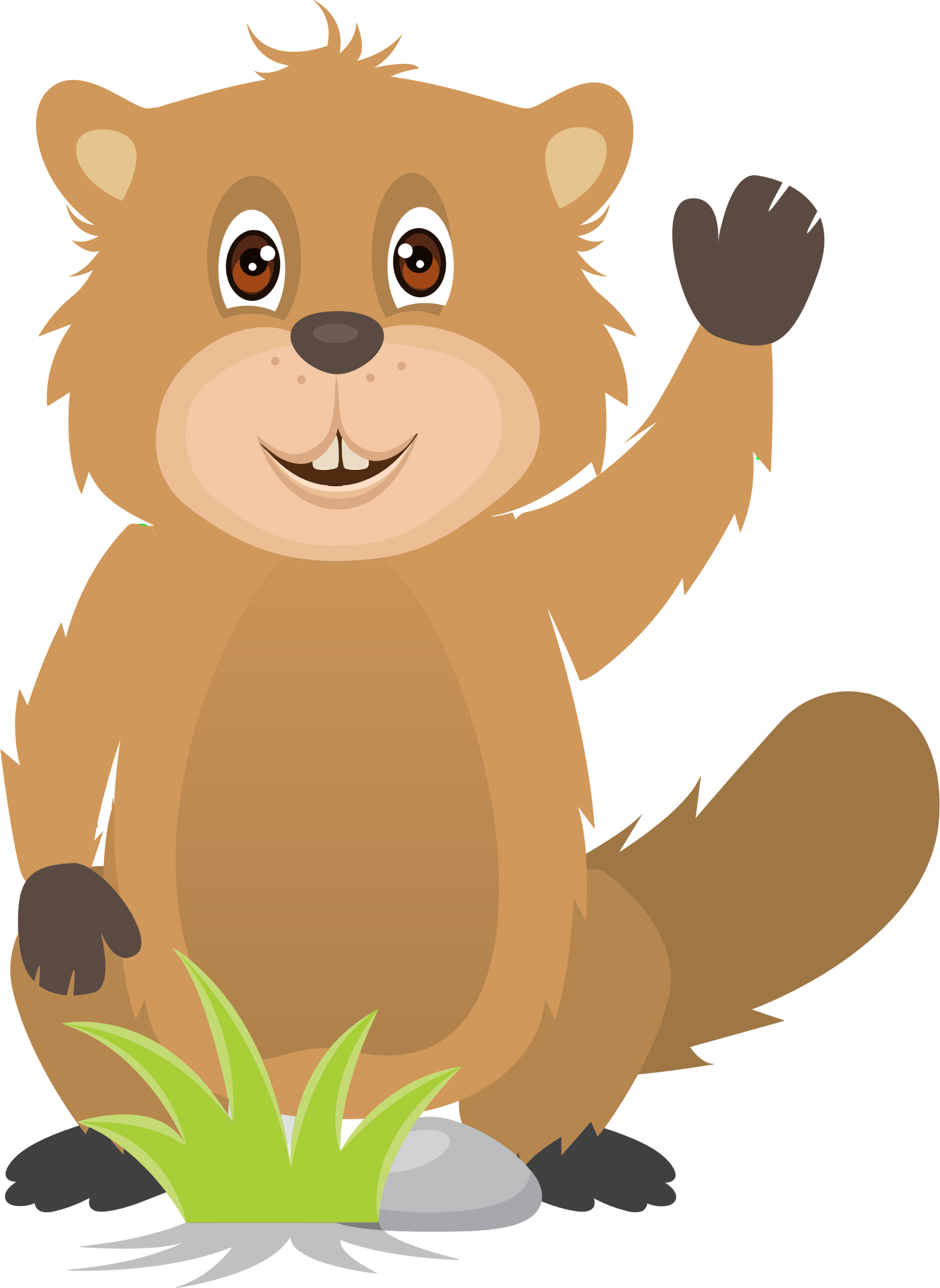 Free download clip art. Bear clipart friendly
