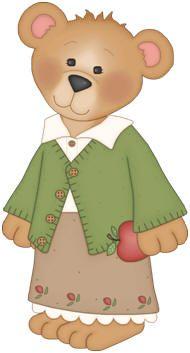 Bear clipart garden.  best graphic images