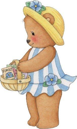 Bear clipart garden.  best teddy images