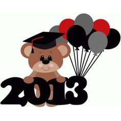 Bear clipart graduation. Silhouette design store search